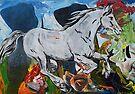 White Horse by Juhan Rodrik