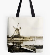 Historical Cley Windmill Tote Bag