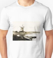 Historical Cley Windmill Unisex T-Shirt
