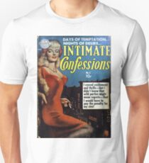 Intimate Confessions - Classic Sexy Comic Cover Unisex T-Shirt