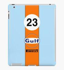 Gulf Oil Racing colours iPad Case/Skin