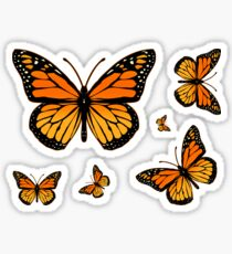 Monarch Butterfly Rapsody Sticker