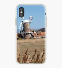 Cley Windmill from the reeds iPhone Case