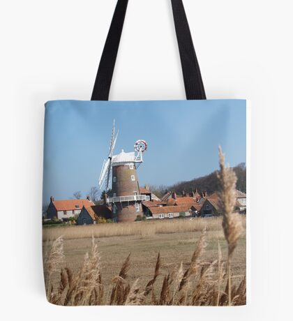 Cley Windmill from the reeds Tote Bag