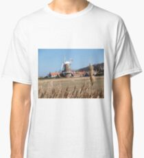 Cley Windmill from the reeds Classic T-Shirt