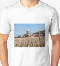 Cley Windmill from the reeds Unisex T-Shirt