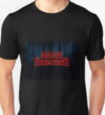 Camiseta unisex Respirador de boca Stranger Things logo