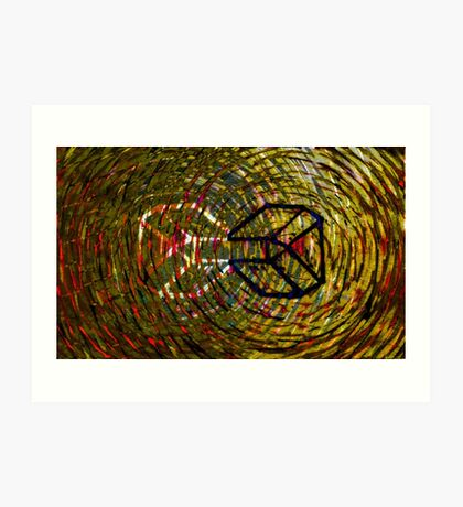Whirling whirls endlessly Art Print