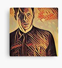Deckard at Tyrell Corporation - Strings Canvas Print