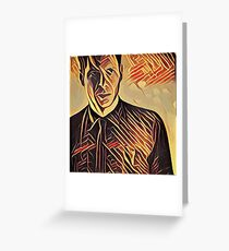 Deckard at Tyrell Corporation - Strings Greeting Card