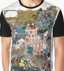Persian Miniature Graphic T-Shirt