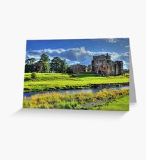 Brougham Castle, England Greeting Card