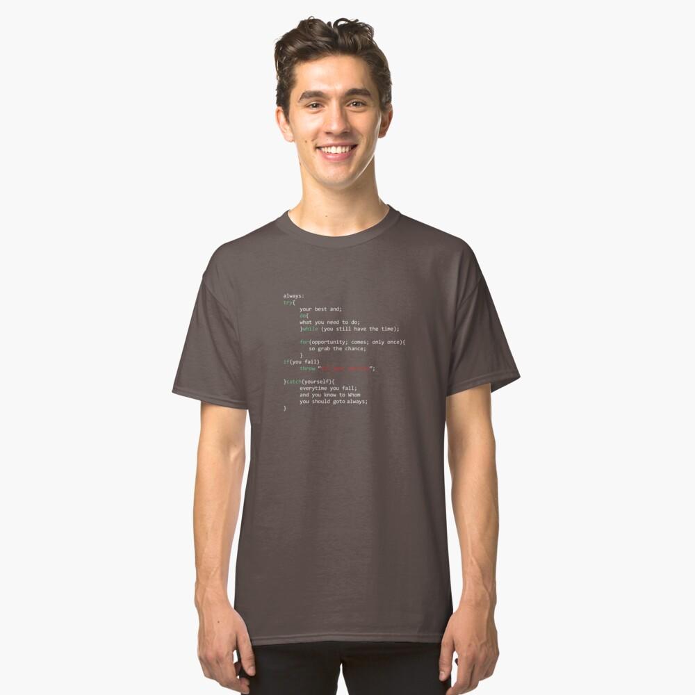 Geek Coder Camiseta clásica