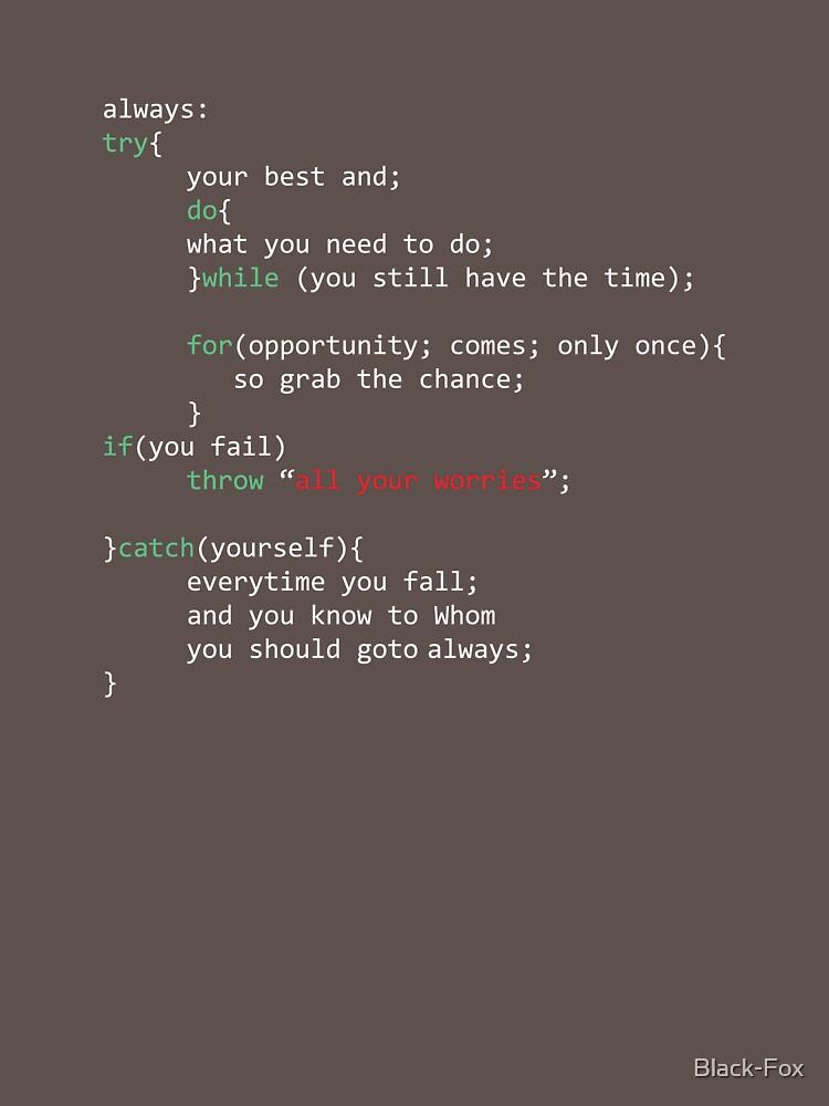 Geek Coder by Black-Fox