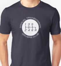 Manual Transmission Drivers Club T-Shirt