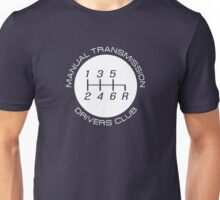 Manual Transmission Drivers Club Unisex T-Shirt