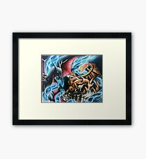 Dragons Framed Print