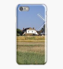Cley Windmill Panorama iPhone Case/Skin