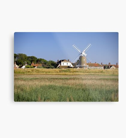 Cley Windmill Panorama Metal Print
