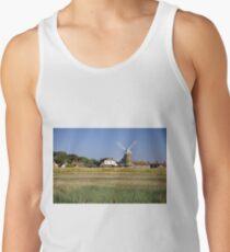 Cley Windmill Panorama Tank Top