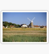 Cley Windmill Panorama Sticker