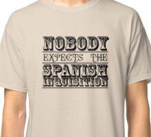 Best of British TV | Monty Python | Black Classic T-Shirt