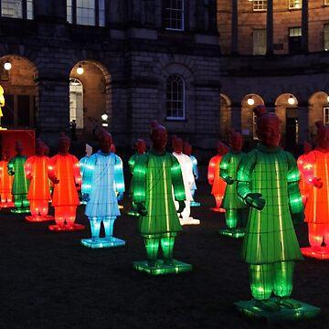 Lanterns of the Terracotta Warriors by DavidBaker