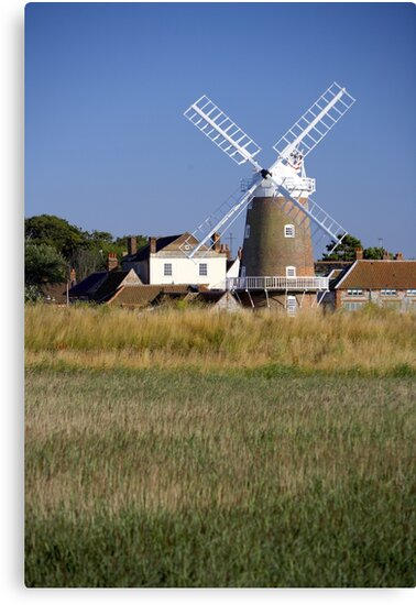 Stunning Panorama of Cley Windmill by cleywindmill