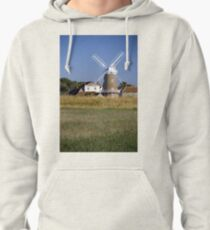 Stunning Panorama of Cley Windmill Pullover Hoodie