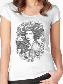 MEDUSA IMPERATRIX MUNDI Women's Fitted Scoop T-Shirt