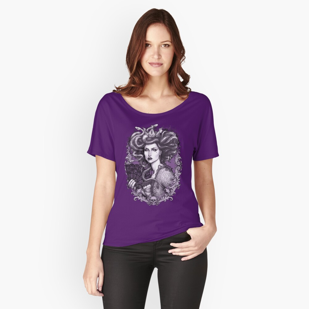 MEDUSA IMPERATRIX MUNDI Women's Relaxed Fit T-Shirt Front