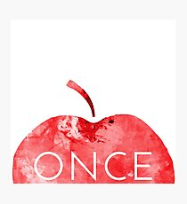 Once Upon A Time-Apple Photographic Print