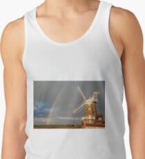 Cley Windmill and Rainbow 2010 Tank Top
