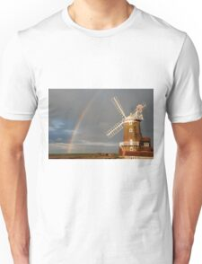 Cley Windmill and Rainbow 2010 T-Shirt