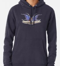 Book Worm  Pullover Hoodie