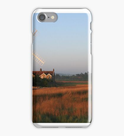 Cley Windmill at Dawn iPhone Case/Skin