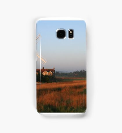 Cley Windmill at Dawn Samsung Galaxy Case/Skin