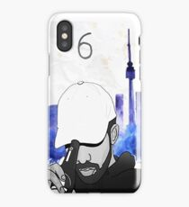 Drake - Watercolors (Blue) iPhone Case
