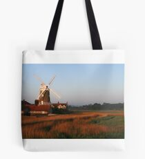 Cley Windmill at Dawn Tote Bag