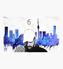 Drake - Watercolors (Blue) Photographic Print