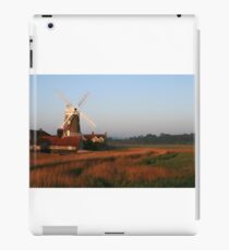 Cley Windmill at Dawn iPad Case/Skin