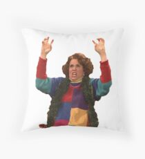 Kristen Wiig: freakin excited  Throw Pillow