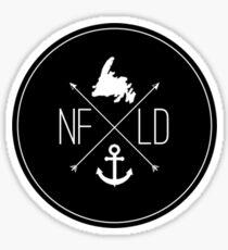 NFLD X Logo Sticker Sticker