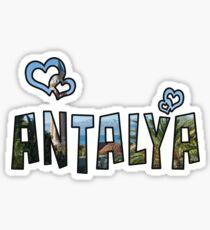 Love Antalya Sticker