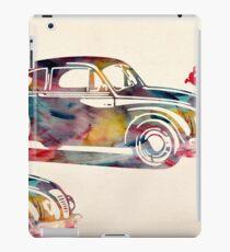 old cars iPad Case/Skin