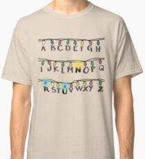 Stranger Things- R-U-N Classic T-Shirt