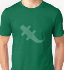 Green Flat Carpet Crocodile T-Shirt