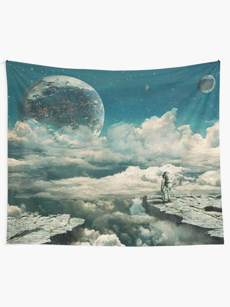 Alternate view of The explorer Wall Tapestry