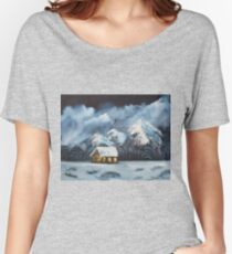 Snowy Mountains Women's Relaxed Fit T-Shirt