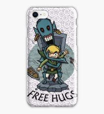 Zelda Wind Waker FREE HUGS  iPhone Case/Skin